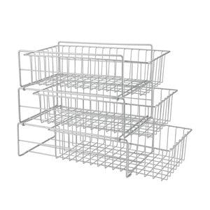 Dodatkowa trzypoziomowa półeczka kuchenna Metaltex Limpio