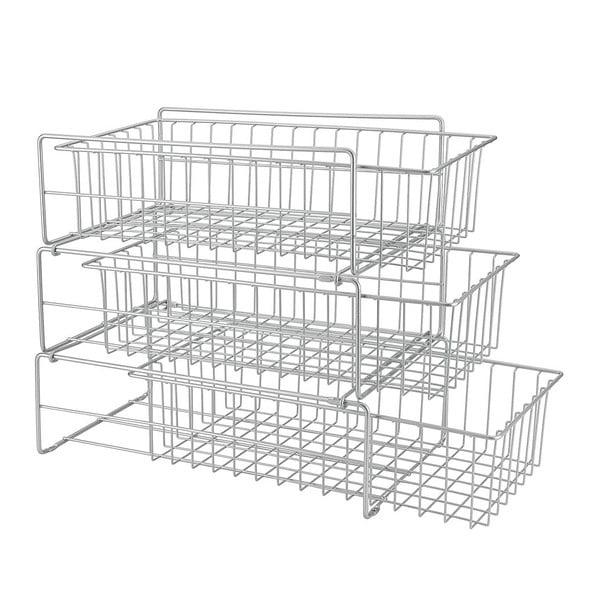 Dodatkowa 3-poziomowa półka kuchenna Metaltex Limpio
