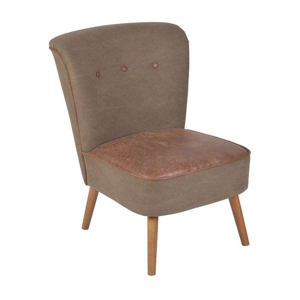 Fotel Trento Brown, 60x60x79 cm