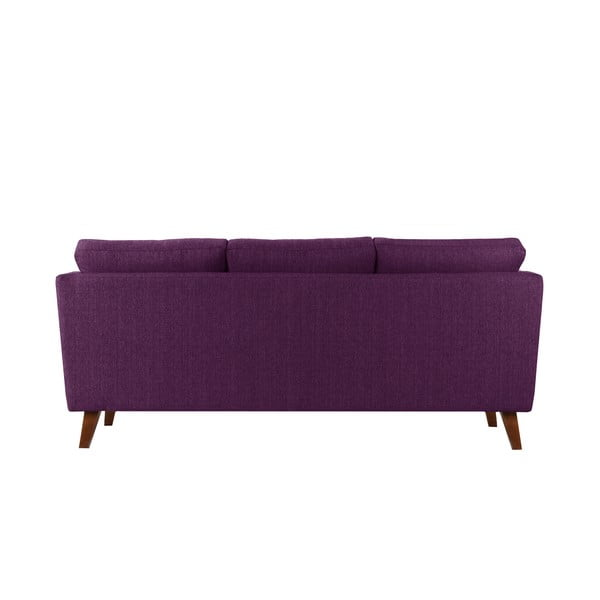 Śliwkowa sofa trzyosobowa Jalouse Maison Elisa