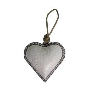 Dekoracja wisząca Light Heart, 10 cm