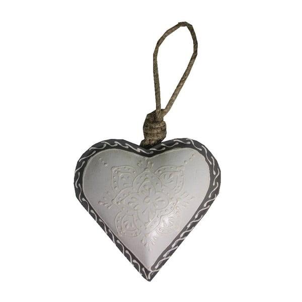 Serce dekoracyjne Antic Line Light Heart, 10 cm