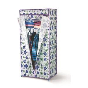 Szafa tekstylna w niebieskie kwiaty Bonita Lush