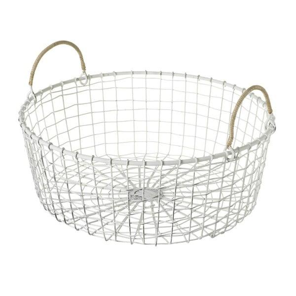 Koszyk Wire White