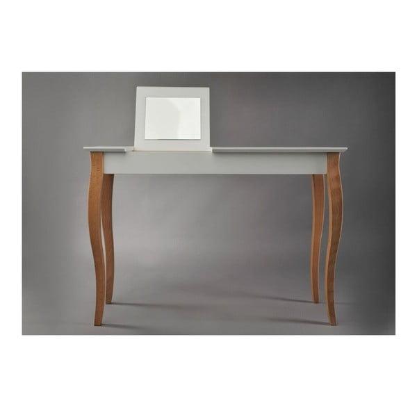 Biała toaletka z lustrem Ragaba Dressing Table, dł. 105 cm