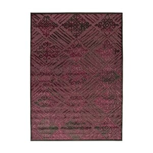 Ciemnobordowy dywan Universal Soho, 140x200 cm
