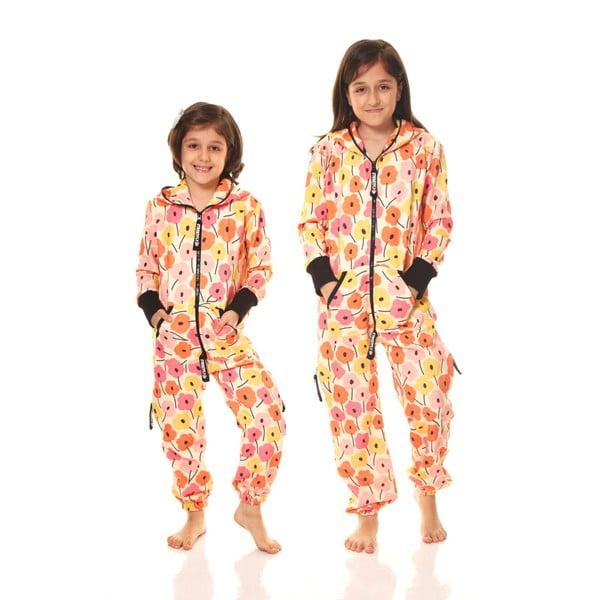 Pomarańczowy dziecięcy kombinezon domowy Streetfly, 6-7 lat