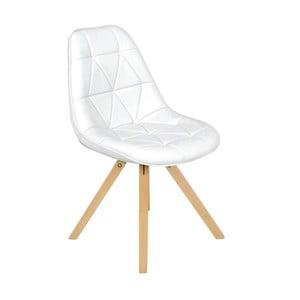 Białe   krzesło InArt