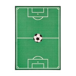 Zielony dywan dziecięcy Zala Living Football, 100x140 cm