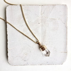 Naszyjnik z kryształem Decadorn