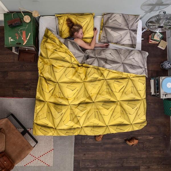 Pościel Snurk Monogami Yellow 140x200 cm