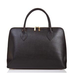 Czarna torebka skórzana Massimo Castelli Liana