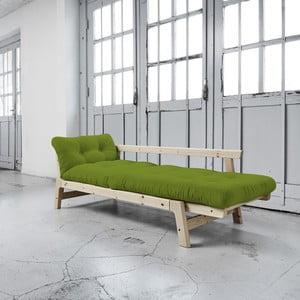 Sofa rozkładana Karup Step Natural/Lime