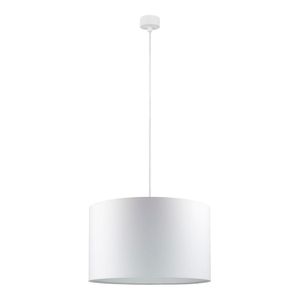Biała lampa wisząca Sotto Luce Mika, ⌀ 40 cm