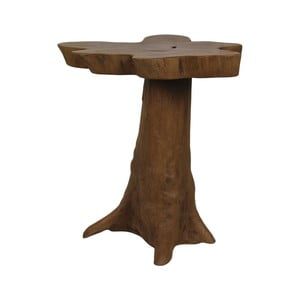 Stolik z drewna tekowego HSM Collection Bintang