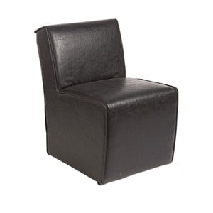Krzesło Seduta, ciemnobrązowe