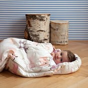 Dziecięcy śpiworek Bartex Różowe zwierzątka, 70x165 cm