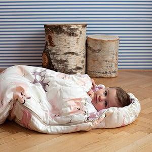 Dziecięcy śpiworek Bartex Różowe zwierzątka, 70x180 cm
