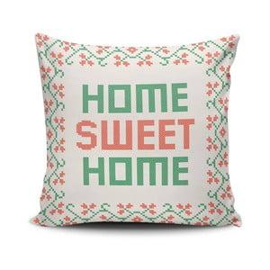 Poduszka z wypełnieniem Sweet Home, 45x45 cm