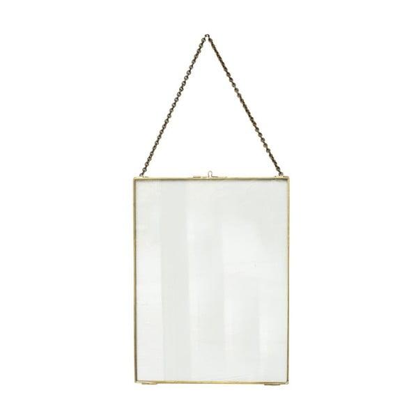 Wisząca ramka Glass Brass, 30x40 cm