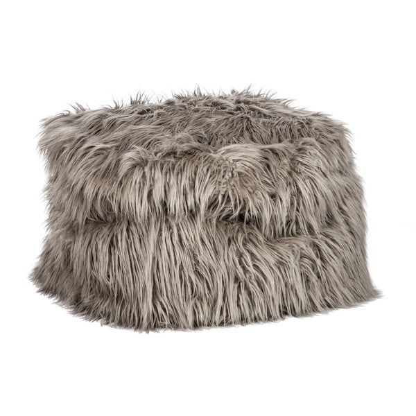 Puf Bean Bag Fur Taupe