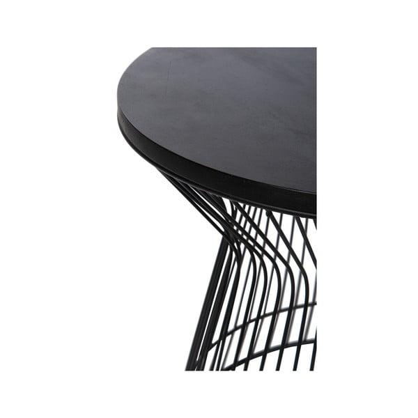 Stolik Hourglass Black