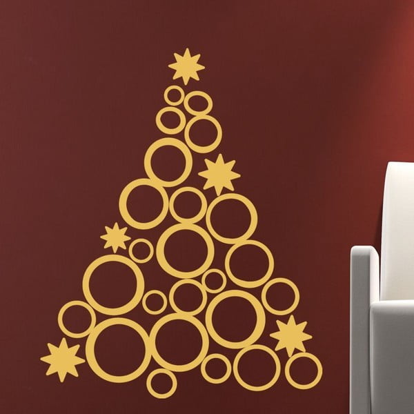 Naklejka   Fanastick Christmas Tree Design