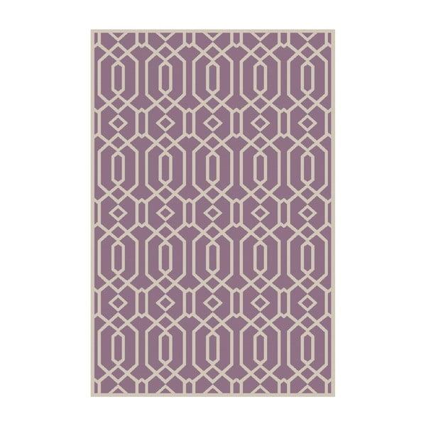 Dywan winylowy Rejilla Lila, 200x300 cm
