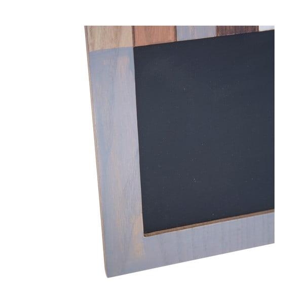 Tablica do pisania i ramka na zdjęcie o wymiarach 10x10 cm Mauro Ferretti Lignes