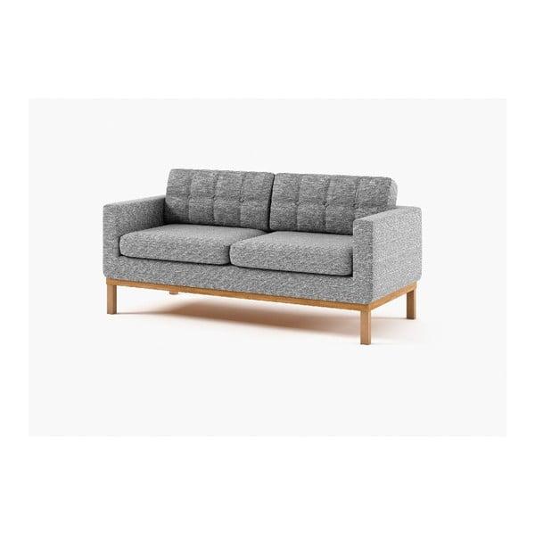 Trzyosobowa sofa Bolton, szara
