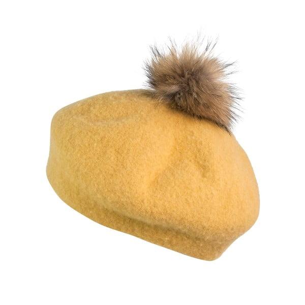 Beret Francoise Yellow