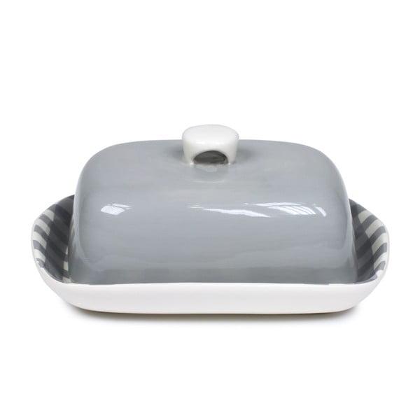 Maselniczka Butter Dish, szara