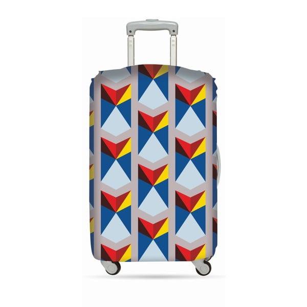 Pokrowiec na walizkę Triangles Geometric
