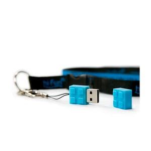Pendrive Hi-Memory 4GB, niebieski