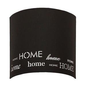 Czarny kinkiet Home Sweet Home