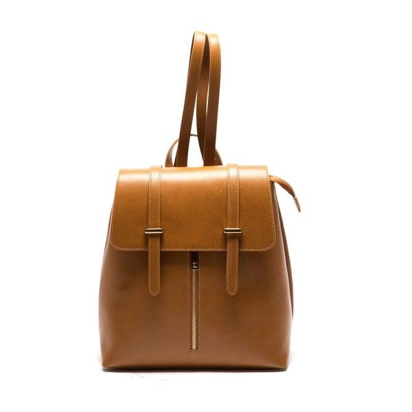 Brązowy skórzany plecak Sofia Cardoni Noemi