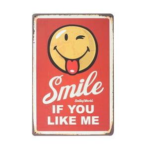 Tablica Smiling, 20x30 cm