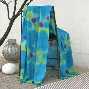Ręcznik hamam Batik Turquoise, 85x150 cm
