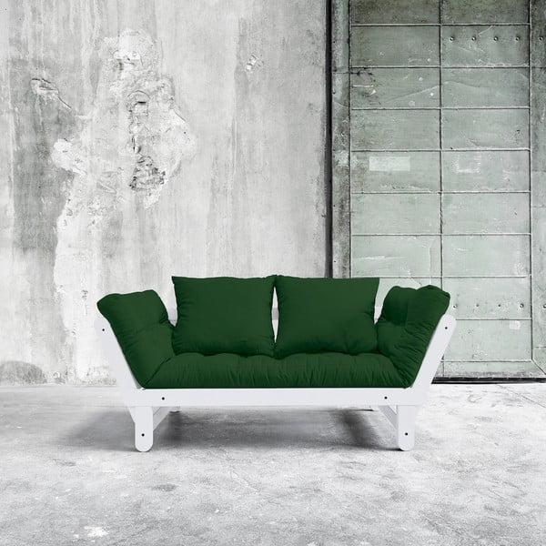 Sofa rozkładana Karup Beat White/Botella
