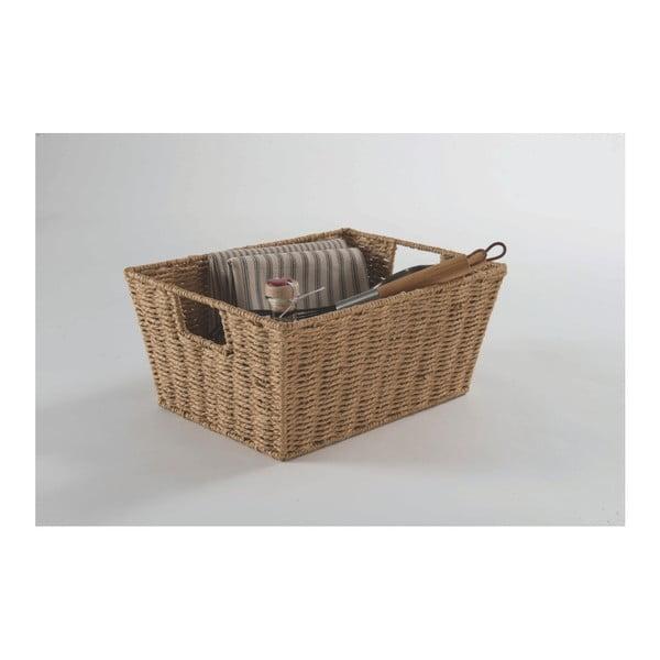 Jasnobrązowy koszyk Compactor Parejo