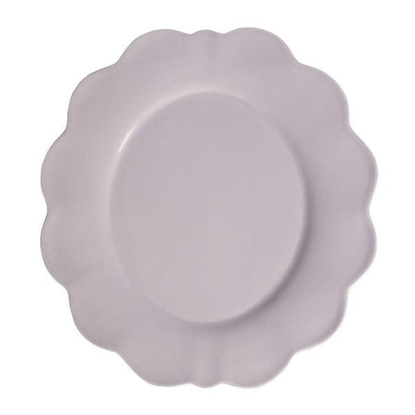 Zestaw 4 talerzy Petale Lilac