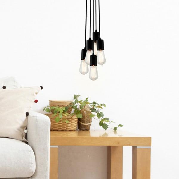 Lampa wisząca Cero, złoty/biały/czarny