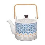 Niebiesko-biały dzbanek do herbaty Tokyo Design Studio Baobab