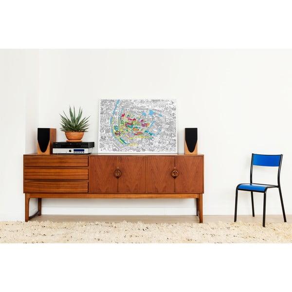 Kolorowanka OMY Amsterdam (70 x 100 cm)