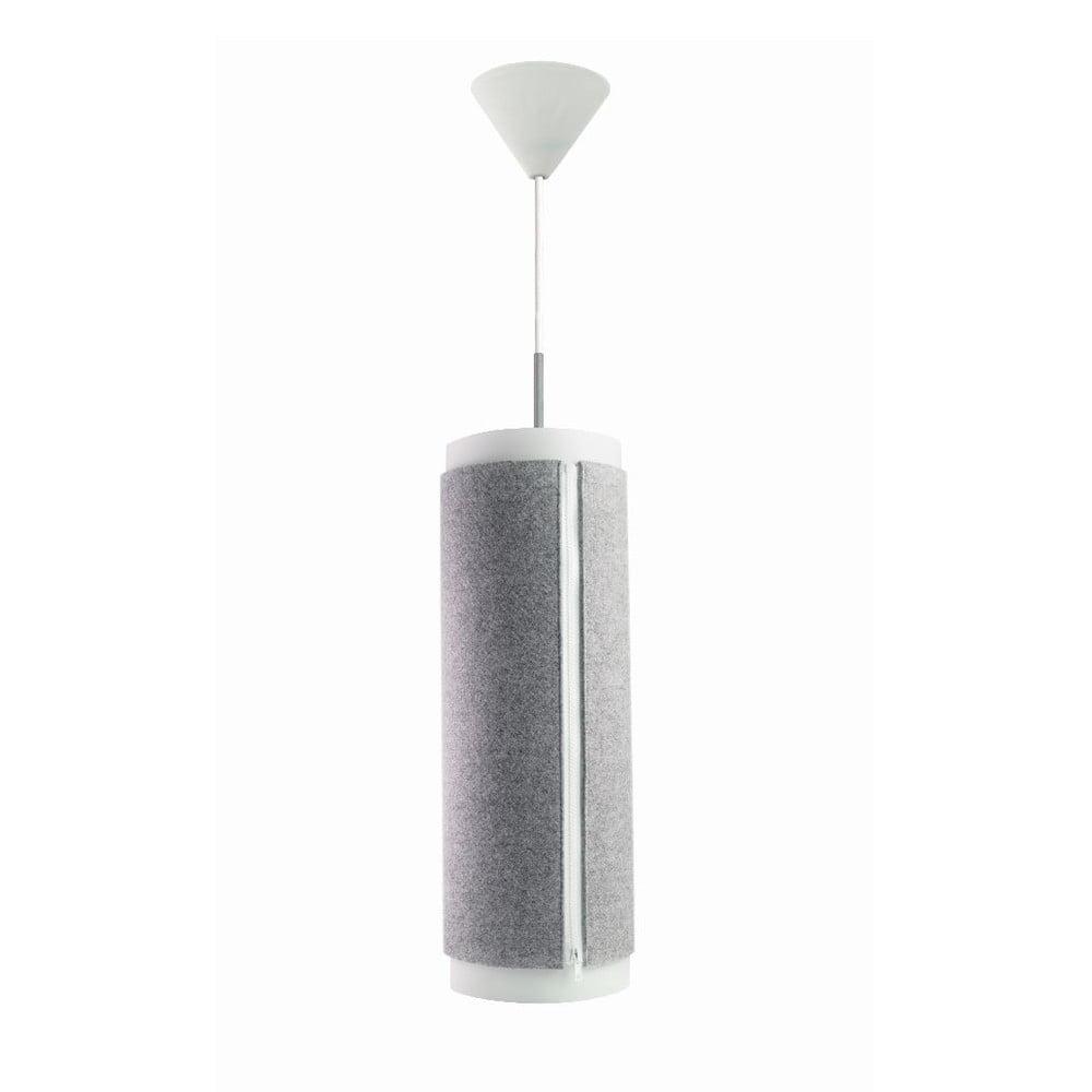 Szara lampa wisząca Zip Star Medium
