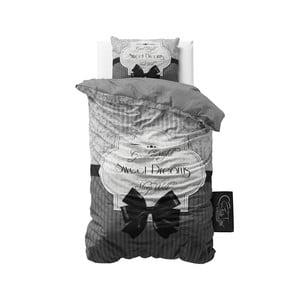 Pościel Sweet Dreams 140x200 cm, szara