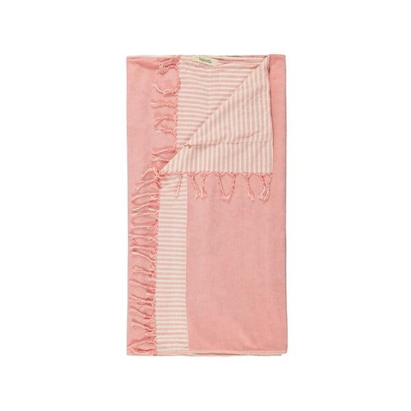 Ręcznik hammam Eos, różowy