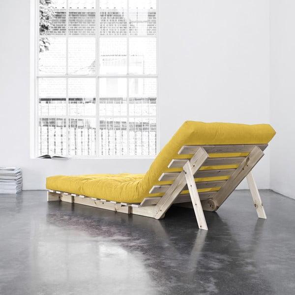 Fotel rozkładany Karup Roots Raw/Amarillo