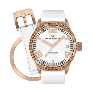 Zegarek damski Marc Coblen z dodatkowym paskiem i obręczą P96