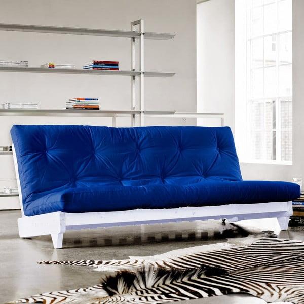 Sofa rozkładana Karup Fresh White/Royal